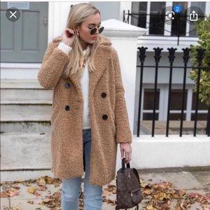 Zara Shearling Coat